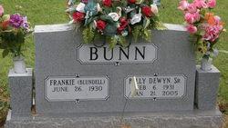 Billy Dewyn Bunn, Sr