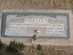 Alvaretta <I>Russell</I> Hartley