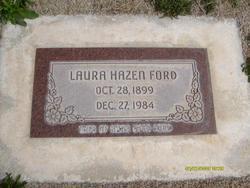 Laura Sophia <I>Hazen</I> Ford