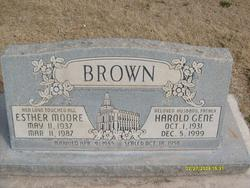 Esther Aileen <I>Moore</I> Brown