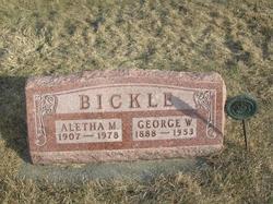 Aletha Marie <I>Baker</I> Bickle