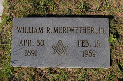 William R Meriwether, Jr