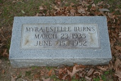 Myra Estelle <I>Coleman</I> Burns