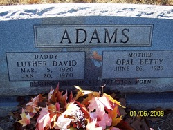 Luther David Adams