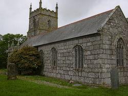 St Wendrona Churchyard