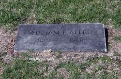 Lieut William Edwin Allen