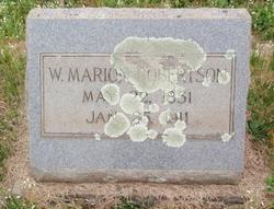 Wesley Marion Robertson