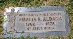 Amalia <I>Robles</I> Aldana