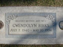 Gwendolyn <I>Ford</I> Birks