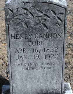 Henry Cannon Gore