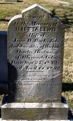 Isaetta Lewis <I>Hudson</I> Barksdale