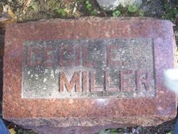 Cecil E. Miller