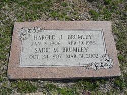 Sadie Margaret <I>Stockard</I> Brumley