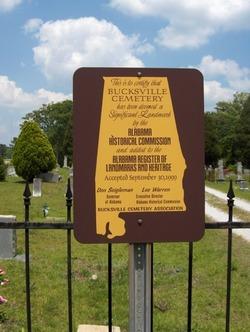 Bucksville Cemetery