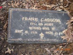 PFC Frank Carroll