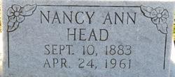 Nancy Ann <I>Ray</I> Head
