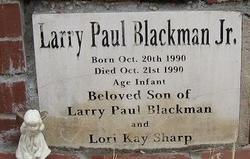 Larry Paul Blackman, Jr