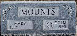"""Malcolm Edward """"Mac"""" Mounts"""