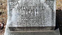 Amelia <I>Bowen</I> Peavy