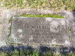 Ray W Hohstadt