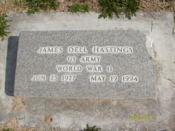 """James Delmont """"Dell"""" Hastings"""