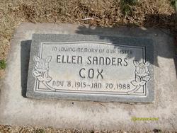 Ellen Sanders Cox