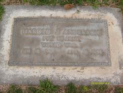 Harold Joseph Anderson