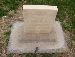 Marie Hazel Anderson