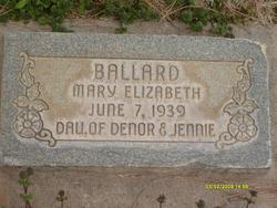 Mary Elizabeth Ballard