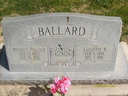 Mildred <I>Pollock</I> Ballard