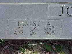 Ernest Ashel Jones
