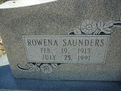 Rowena <I>Saunders</I> Ballew