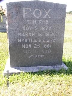 """Thomas S """"Tom"""" Fox"""