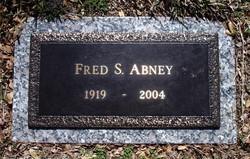 """Frederick Sherwood """"Fred"""" Abney"""