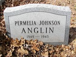Permelia <I>Johnson</I> Anglin