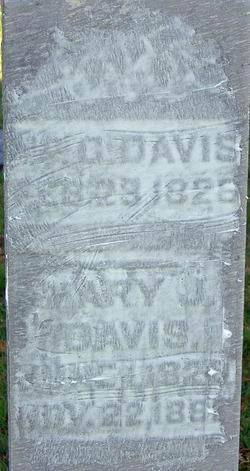 Mary Jane <I>Baker</I> Davis
