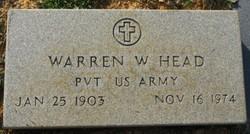 Warren W Head