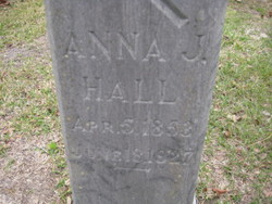 Anna Jane <I>Malone</I> Hall