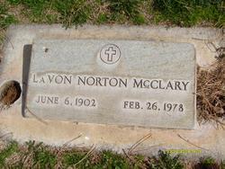 LaVon <I>Norton</I> McClary