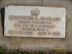 Norwood Lenau McClary