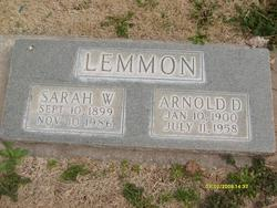 Sarah <I>Worthen</I> Lemmon