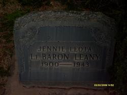 Jennie Leota <I>Lebaron</I> Leany