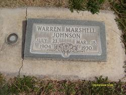 Warren Marshall Johnson