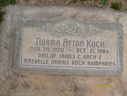 Norma Afton Koch