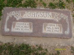 Rhoda Emily <I>Young</I> Johnson