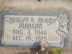 Carolyn Ruth <I>McKay</I> Johnson