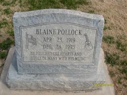 Blaine D Pollock