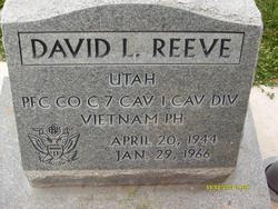 PFC David Leo Reeve
