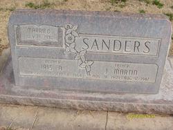 Iris <I>Adams</I> Sanders
