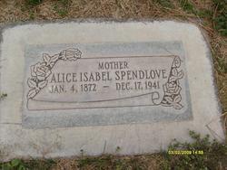 Alice Isabell <I>Isom</I> Spendlove